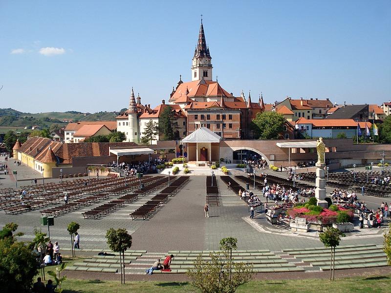 The sanctuary Marija Bistrica